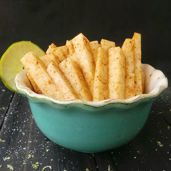 Jicama Fries from Allergylicious