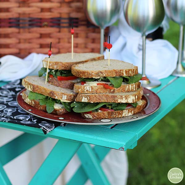 Picnic Sandwich from Cadry's Kitchen