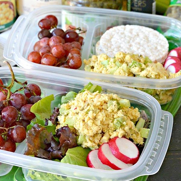 Vegan Tuna Salad from Veggies Save the Day