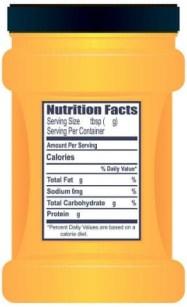 Valeur nutritionnelle de la maltodextrine