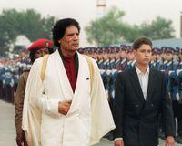 Global Support of The Libyan Leader Muammar Gaddafi