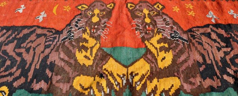 tiger kelim uzbekistan