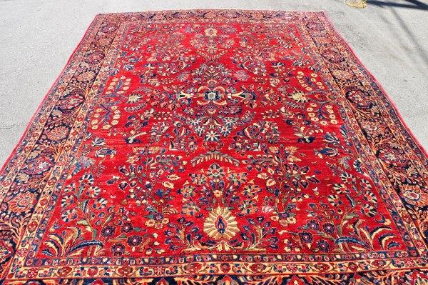 Antique Persian Sarouk Rug SK0017