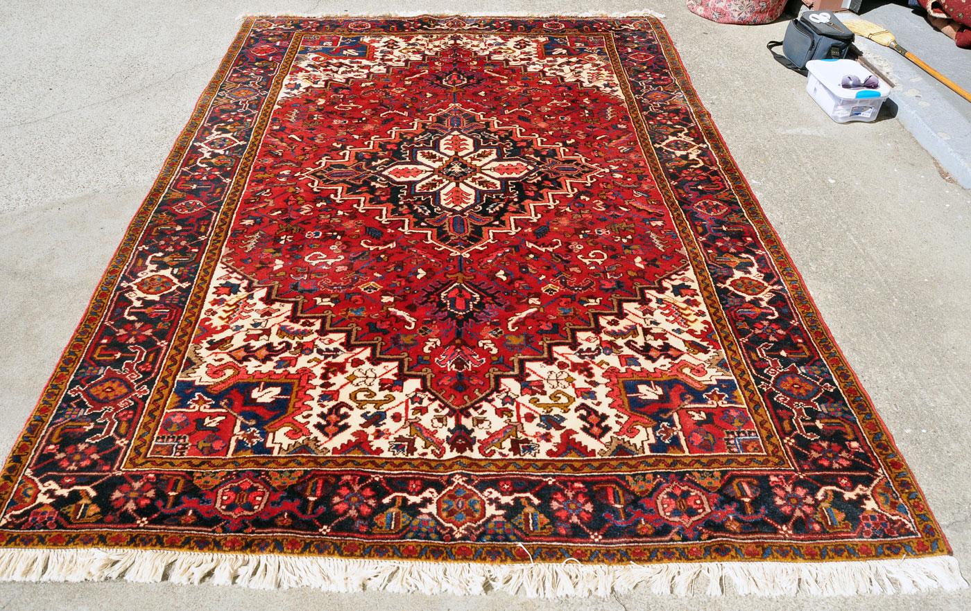 Persian Heriz Rug HE0094