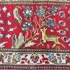 Tabriz Rug Deer and Bird