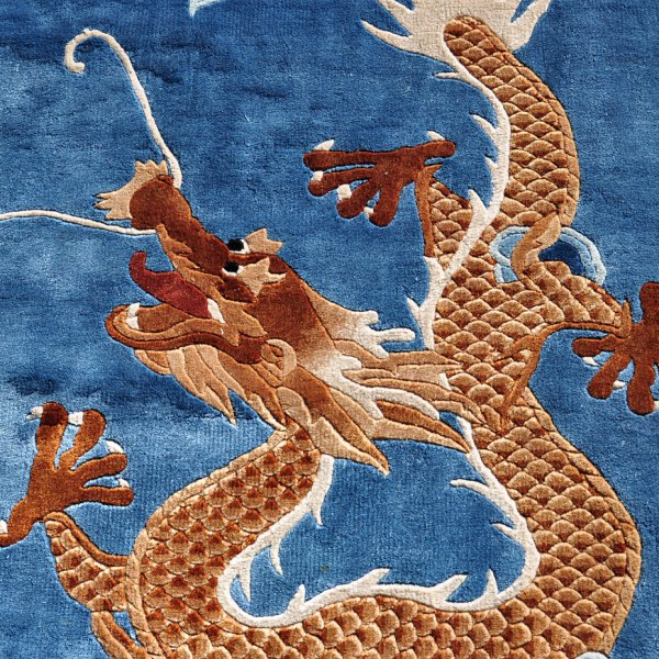 Chinese Dragon Rug C0021