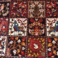 Bakhtiari Bird & Garden Rug