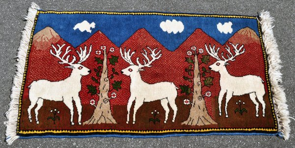 Reindeer Shirazi Rug