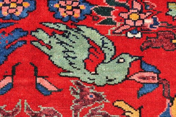 Persian Bird Motif Carpet