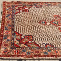 Kurdish handwoven medallion rug