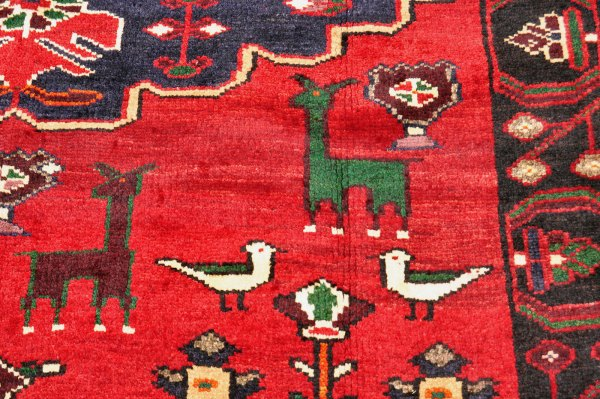 Animal and Bird carpet -- Iran