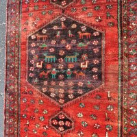 Iran runner red and black