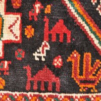 Persian Tribal Bird Rug