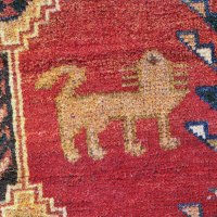 Lion and Tree of life carpet