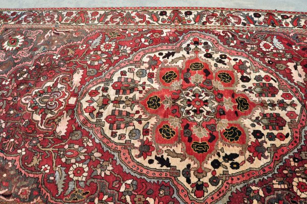Very old Persian Bakhtiari Carpet
