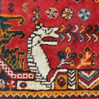 Persian Tribal Shirazi horse rug