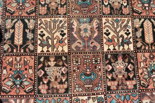 Persian village carpet