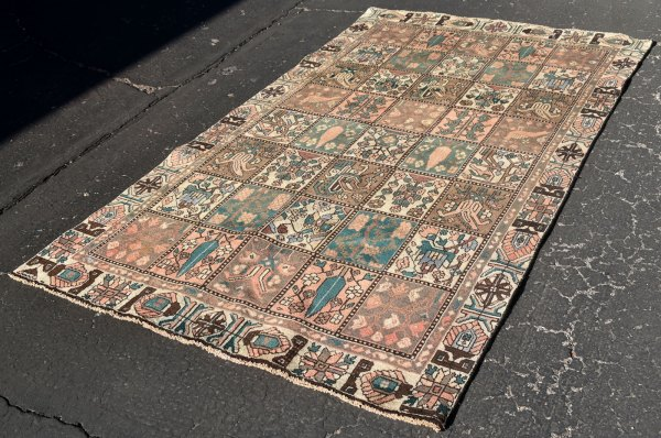 Very muted soft colors rug -- Iran