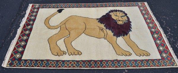 Lion Carpet Pictorial
