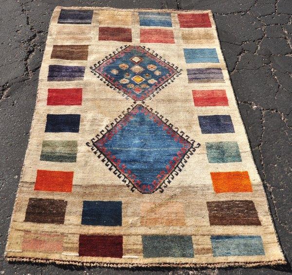 Iran Persian gabbeh carpet