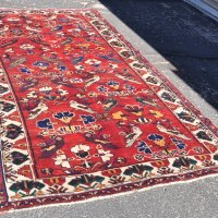 Tribal Carpet Iran with Birds