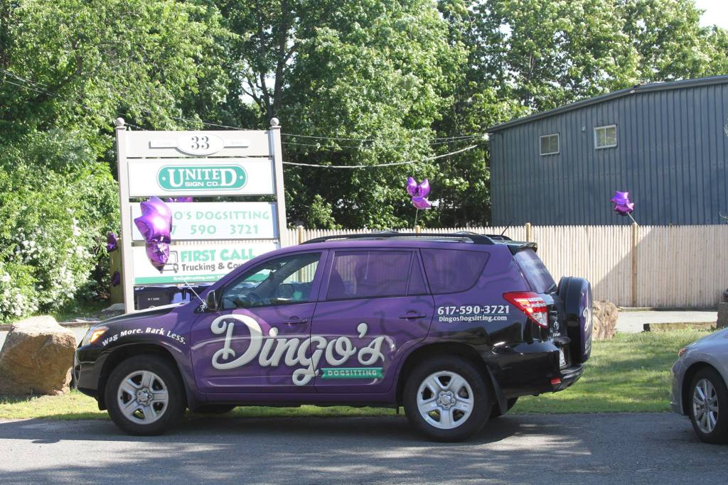 Company Vehicle, Dog Daycare, Beverly, MA