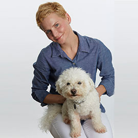 Nancy DeFazio Beaupere owner of Dingo's Dogsitting