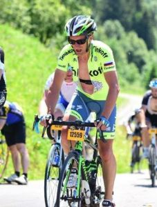 Dingue de vélo - Etape du Tour 2016 - Séb en danseuse, style contadoresque !
