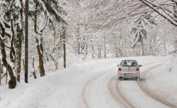 coupure hivernale - pas facile de rouler certains jours ....