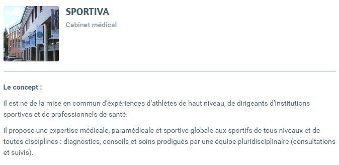 sportiva - clinique du Sport à Lille