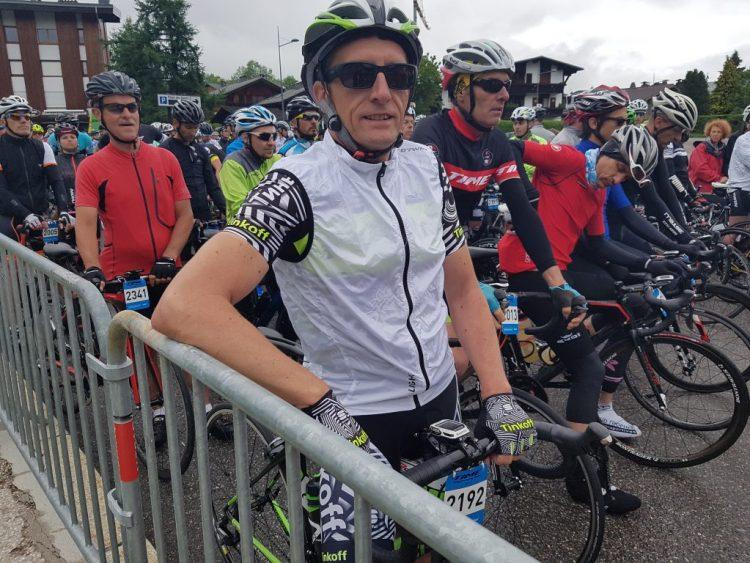 Time Megève Mont Blanc 2017 - Manches courtes mais coupe vent de rigueur