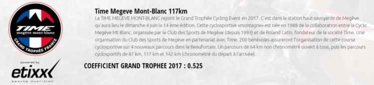 La Time Megève Mont Blanc 2017