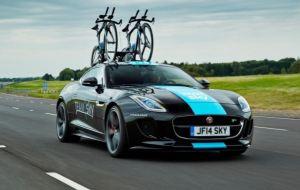 Jaguar de la Team SKY