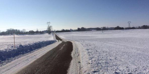 Les longues sorties vélo en hiver dans le Nooooord !