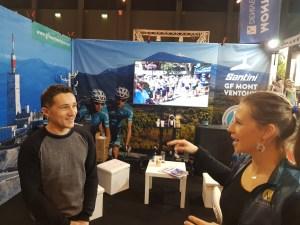 Dingue de vélo - Nicolas et Lucie, les organisateurs de la Santini Ventoux