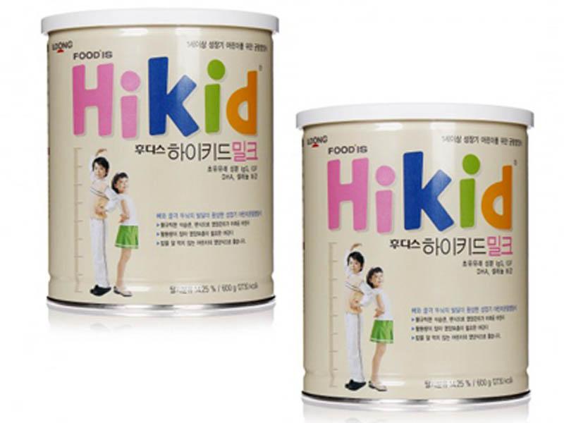 Sữa bột Hikid - Dòng sữa bột xách tay được chị em ưa chuộng