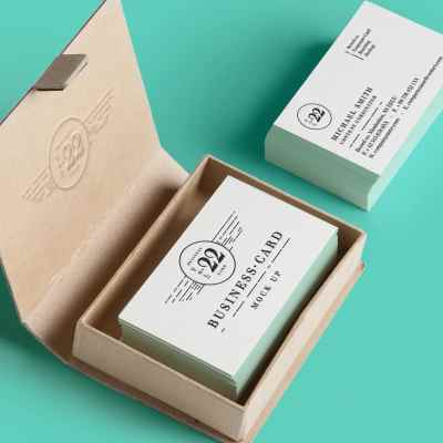 paper business card 2b