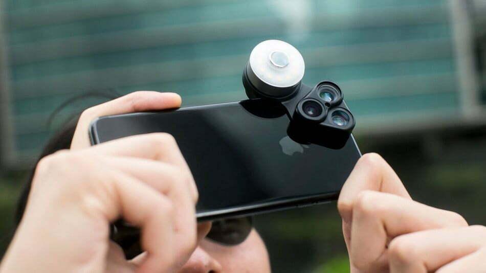 Kit de multi-lentes fará com que suas