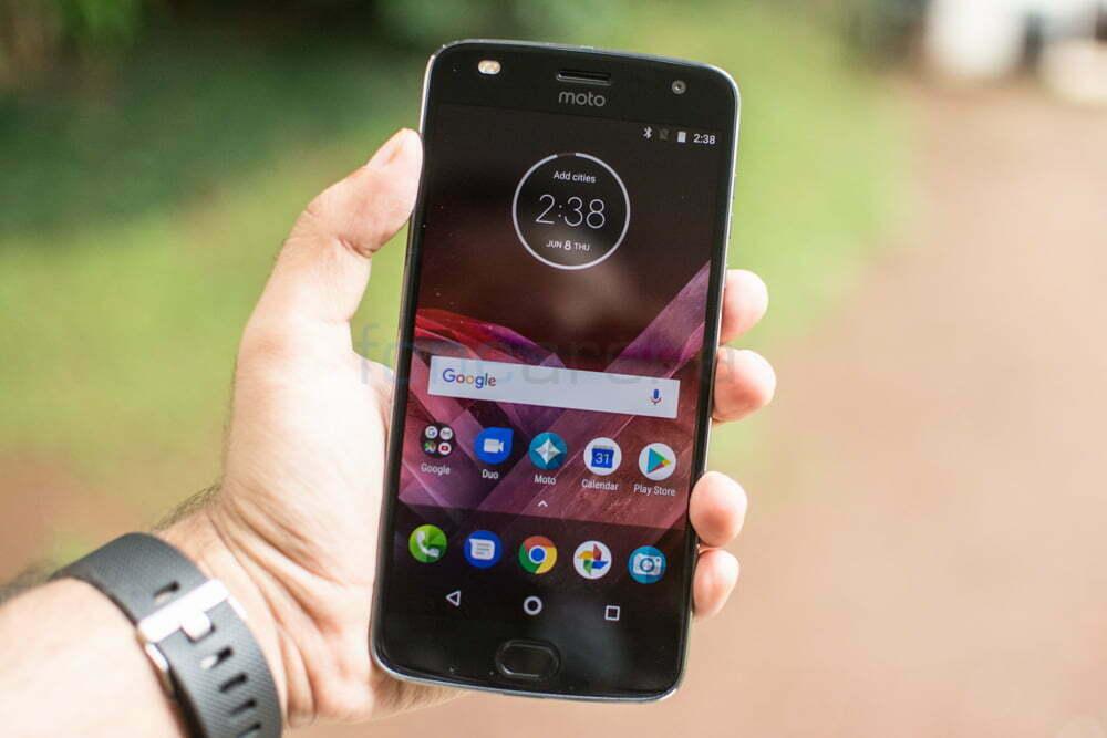 Android Oreo 8.0 começa a rodar no Moto Z2 Force