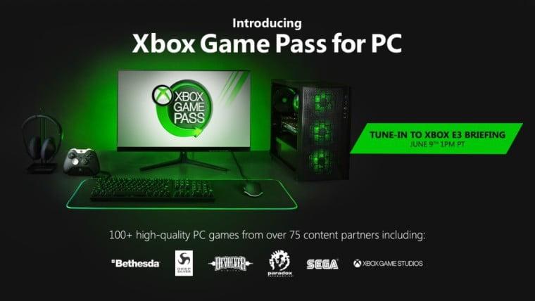 Xbox Game Pass chega oficialmente ao Windows 10