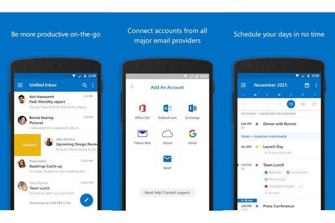 Microsoft Outlook para Android traz melhorias de ponta