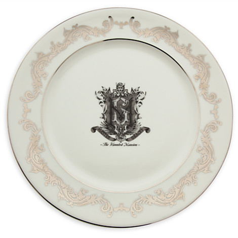 Disney The Haunted Mansion Blueprint Appetizer Plate