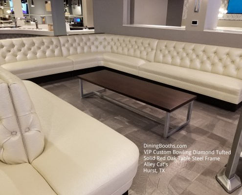 DINING BOOTHS BOWLING BANQUETTE