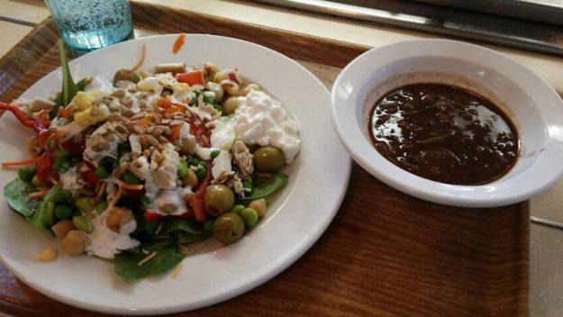 Salad Bar & African Peanut Soup