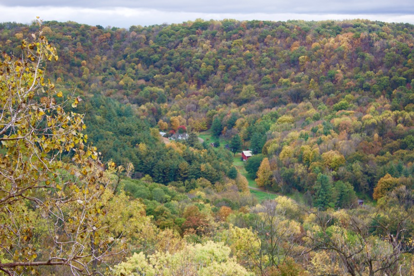 Granddad Bluff for fall colors