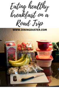 Pin this idea for a healthy road trip breakfast