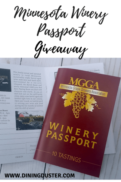 Minnesota Winery Passport Giveaway