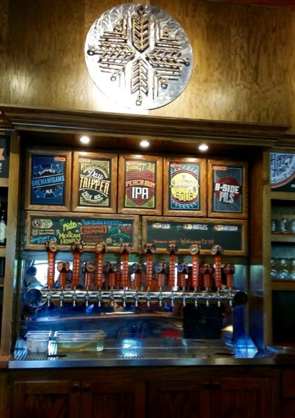Bar at Indeed Brewing