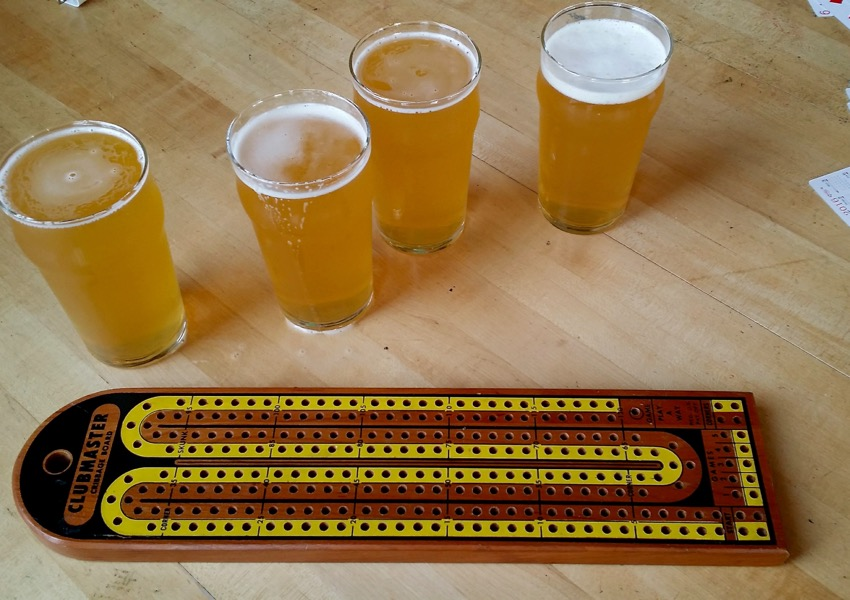 Beer & Cribbage at Insight Brewing