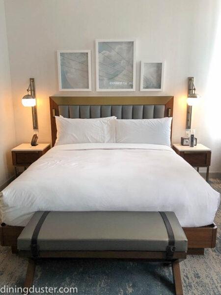 Bed at Rand Tower